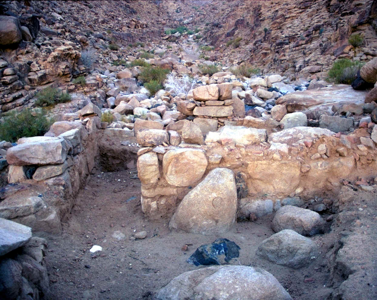 Evidences at Jebel el Lawz While at the mountain, Ron found the